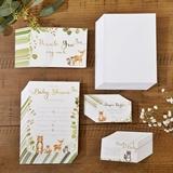 Kate Aspen Woodland Baby Shower Invitations & Thank You Cards Bundle