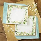 Kate Aspen Botanical Garden Two-Ply Paper Napkins (Set of 30)