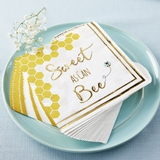 Kate Aspen Sweet As Can Bee Two-Ply Paper Napkins (Set of 30)