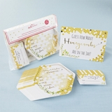 Kate Aspen Sweet As Can Bee Advice Card & Baby Shower Game (Set of 50)