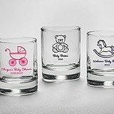 Kate Aspen Votive by Day, Shot Glass By Night (Baby Shower)