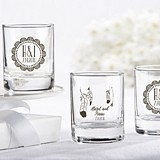 Kate Aspen Personalized Boho Chic Shot Glass/Votive Holder