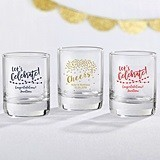 Kate Aspen Personalized 'Party Time' Shot Glass/Votive Holder