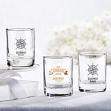 Personalized Shot Glass/Votive Holders (Travel & Adventure Designs)