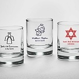Kate Aspen Personalized Shot Glass/Votive Holder (Religious Designs)