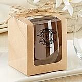 Kate Aspen Personalized 9 oz. Stemless Wine Glass (Monogram Designs)