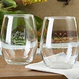 Kate Aspen Personalized Travel & Adventure 9 oz. Stemless Wine Glasses