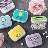 Kate Aspen Adorable Personalized Baby Shower Mint Tins