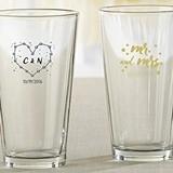 "Kate Aspen ""Under the Stars"" Designs 16 oz. Pint Glasses"