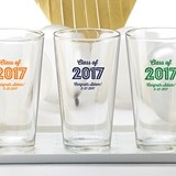 Kate Aspen Personalized Pint Glass with 'Class of 2017' Marquee Design