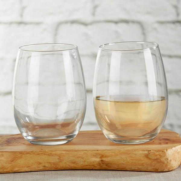 Kate Aspen Non-Personalized 15 oz. Stemless Wine Glass - DIY