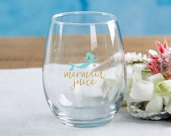 Kate Aspen Seaside Escape 15 oz. Stemless Wine Glass (Set of 4)
