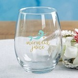 Kate Aspen Seaside Escape 15 oz. Stemless Wine Glass (Set of 4)
