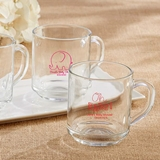 Kate Aspen Personalized 10 oz. Glass Coffee Mug w/ Baby Shower Designs