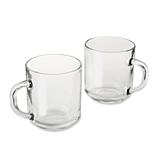 Kate Aspen DIY Non-Personalized 10 oz. Glass Coffee Mug