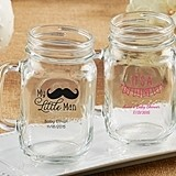 Kate Aspen Personalized 16 oz. Mason Jars (Baby Shower Designs)