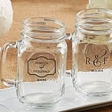Kate Aspen Classic Collection Personalized 16 oz. Mason Jars