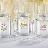 Kate Aspen Personalized 16 oz. Mason Jars with Fall-Themed Designs