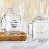 Kate Aspen Personalized Travel & Adventure Designs 16 oz. Mason Jars