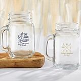 Kate Aspen Personalized Travel & Adventure Designs 16 oz. Mason Jars