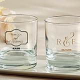 Kate Aspen Classic Collection Personalized 9 oz. Rocks Glasses