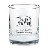Kate Aspen Personalized 'Happy New Year' Design 9oz Rocks Glasses