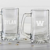 Kate Aspen Personalized Beer Stein Engraved with Name or Initial(s)