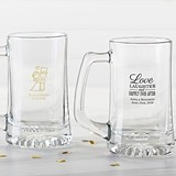 Kate Aspen Personalized 15 oz Beer Steins (Wedding & Seasonal Designs)