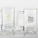 Kate Aspen Personalized 15 oz Beer Steins (Wedding & Seasonal Designs)
