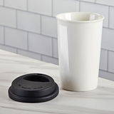 Kate Aspen 15 oz. Ceramic Travel Coffee Mug with Cool-Touch Lid - DIY