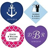 Kate Aspen Personalized Tags for Your Wedding Favors (Set of 36)