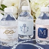 Kate Aspen Personalized Nautical-Theme Water Bottle Labels