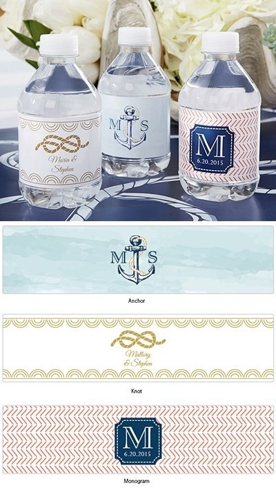 7f70d123e4 Kate Aspen Personalized Nautical-Theme Water Bottle Labels | Personalized  Gifts and Party Favors