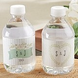 Kate Aspen Personalized Rustic-Theme Water Bottle Labels