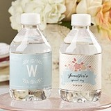 Kate Aspen Personalized Rustic Bridal Shower Water Bottle Labels