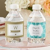 Kate Aspen Personalized Water Bottle Labels (Wedding Designs)