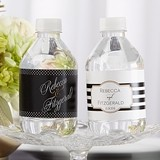 Kate Aspen Classic Collection Personalized Water Bottle Labels