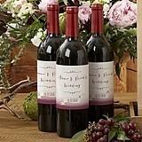 Kate Aspen Vineyard Ombre Design Personalized Wine Bottle Labels