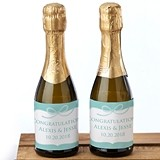 Kate Aspen 'Something Blue' Personalized Mini Wine Bottle Labels