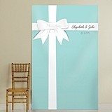 "Kate Aspen Personalized ""Something Blue"" Photo Backdrop"