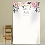 Kate Aspen Personalized English Garden Design Photo Backdrop