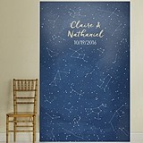 "Kate Aspen Personalized ""Under the Stars"" Photo Backdrop"