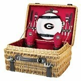 "Officially-Licensed Collegiate Logo ""Champion"" Picnic Basket"