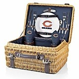 "Officially-Licensed NFL Team Logo ""Champion"" Picnic Basket"