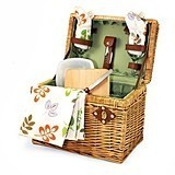 "Botanica Collection ""Napa"" Wine Basket by Picnic Time"