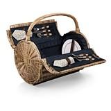 "Dahlia Pattern ""Barrel"" Picnic Basket by Picnic Time"