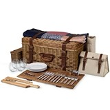 Charleston Picnic Basket with Festival Blanket by Picnic Time