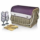 Finely-Crafted Kabrio Aviano Wine Basket by Picnic Time