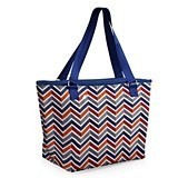 """Hermosa"" Cooler Tote with Chevron Vibe Pattern"