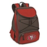 Officially-Licensed NFL Team Logo PTX Backpack Cooler